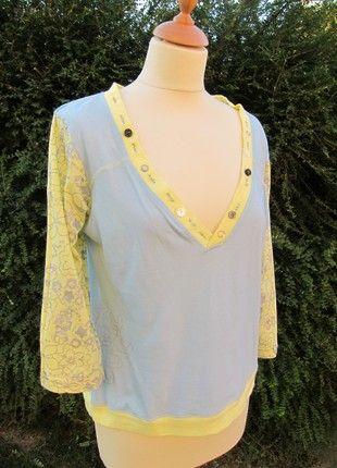 Compra mi artículo en #vinted http://www.vinted.es/ropa-de-mujer/camisetas-manga-3-slash-4/772758-camiseta-talla-p-adolfo-dominguez