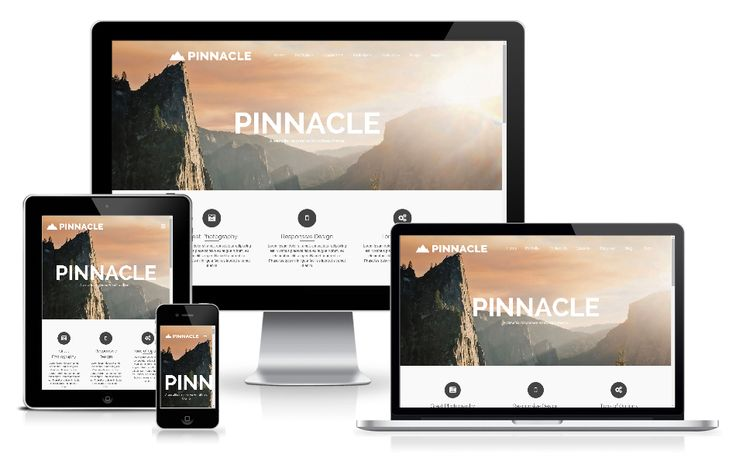 http://wpthemess.net/pinnacle/ Pinnacle is a free bold #wordpress #theme with versatile options and multiple styles