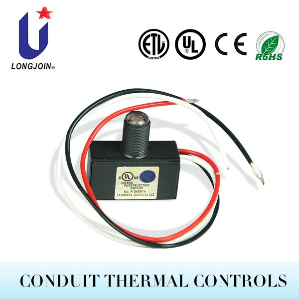 Wire In Photocell Photo Control Day Night Light Sensor Photoelectric Switch With Threaded Eye Light Sensor Thermal Control Control