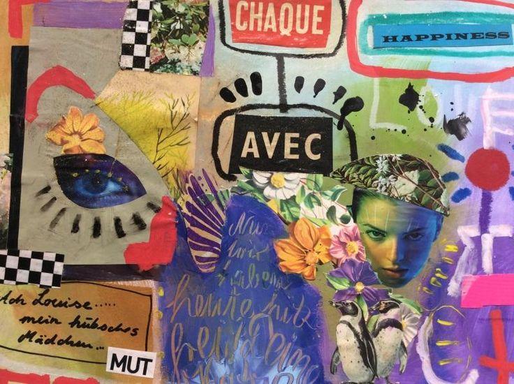 #acrylcollage #mixedmedia #kunstwerk #artpainter #artstamp #collage
