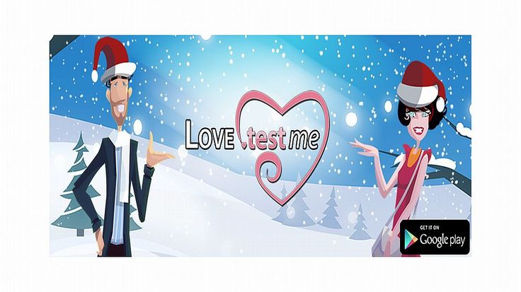 Android apps for Valentine's Day: Love Test Calculator.