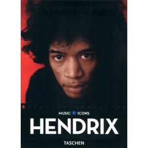 Music Icons: Hendrix. Taschen. Un bonito libro, disponible en Bibliometro Irarrázaval. Echaré de menos mi biblioteca regalona de los últimos meses