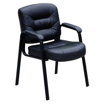 Austen Guest Chair in Bonded Leather - 8802686 and other Browse All Office Furniture