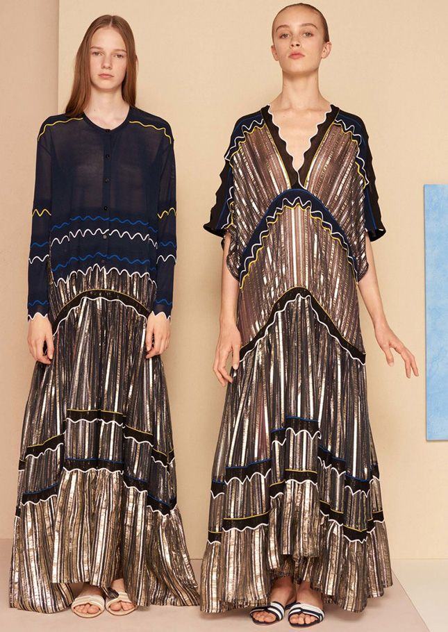 Богемные платья — ключевая вещь в круизных коллекциях 2017 | Мода | Тенденции | VOGUE