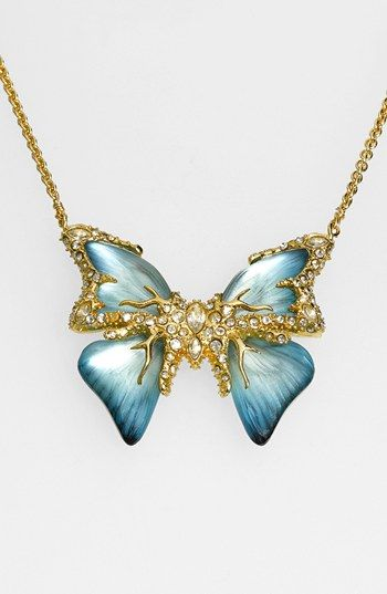 Ready to welcome spring with this amazing Alexis Bittar Butterfly Pendant Necklace! #commandress