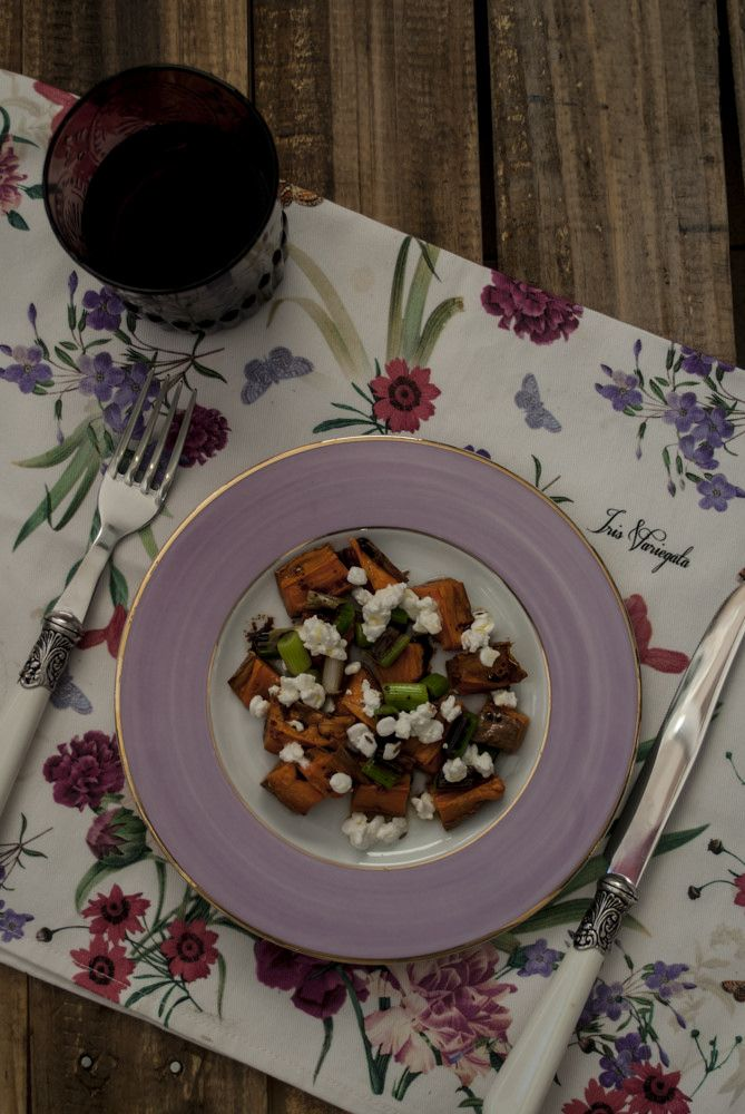 Roasted Sweet Potatoes Salad - ENSALADA de  BONIATOS ASADOS