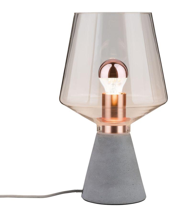 Inspirational Paulmann Tischleuchte Neordic Yorik flammig TischlampeSkandinavische LampenNaturmaterialienKupferLampen