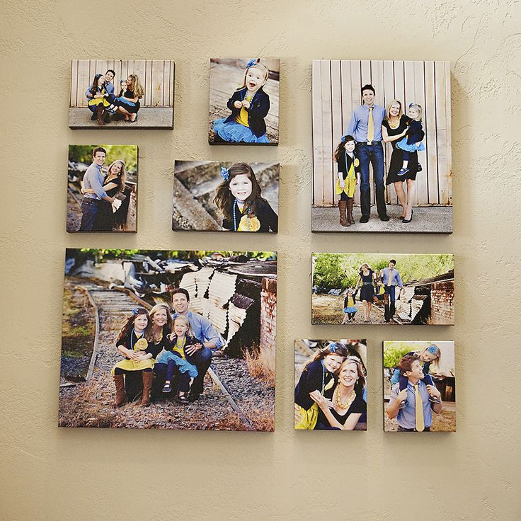 I can't wait to do this once we get our new pictures done. I have the perfect place for it.