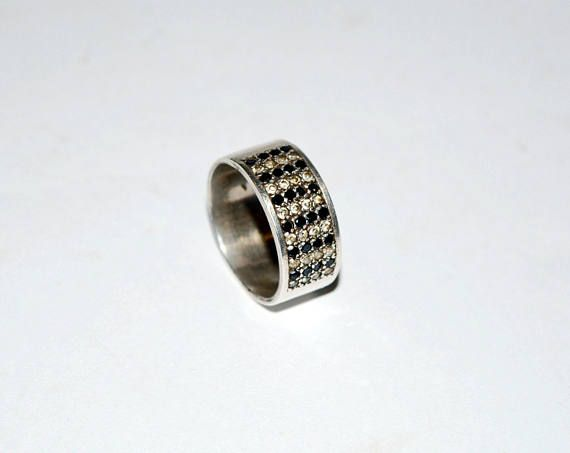 Vintage silver ring Sterling silver ring 925 silver ring