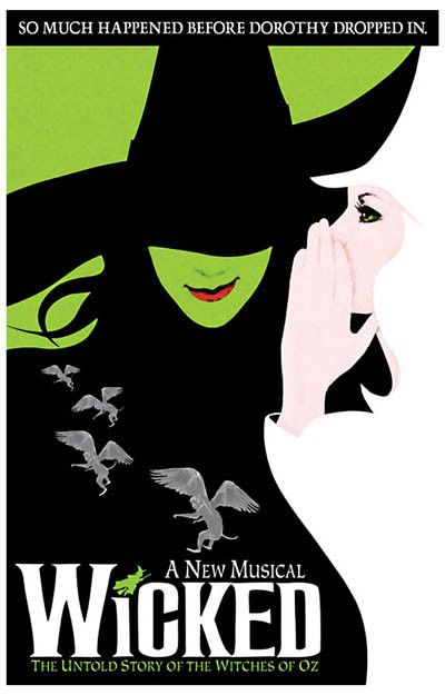 A great poster for Wicked: The Untold Story of the Witches of Oz! We're not in Kansas anymore, Dorothy...we're on Broadway! Ships fast. 11x17 inches. Need Poster Mounts..?