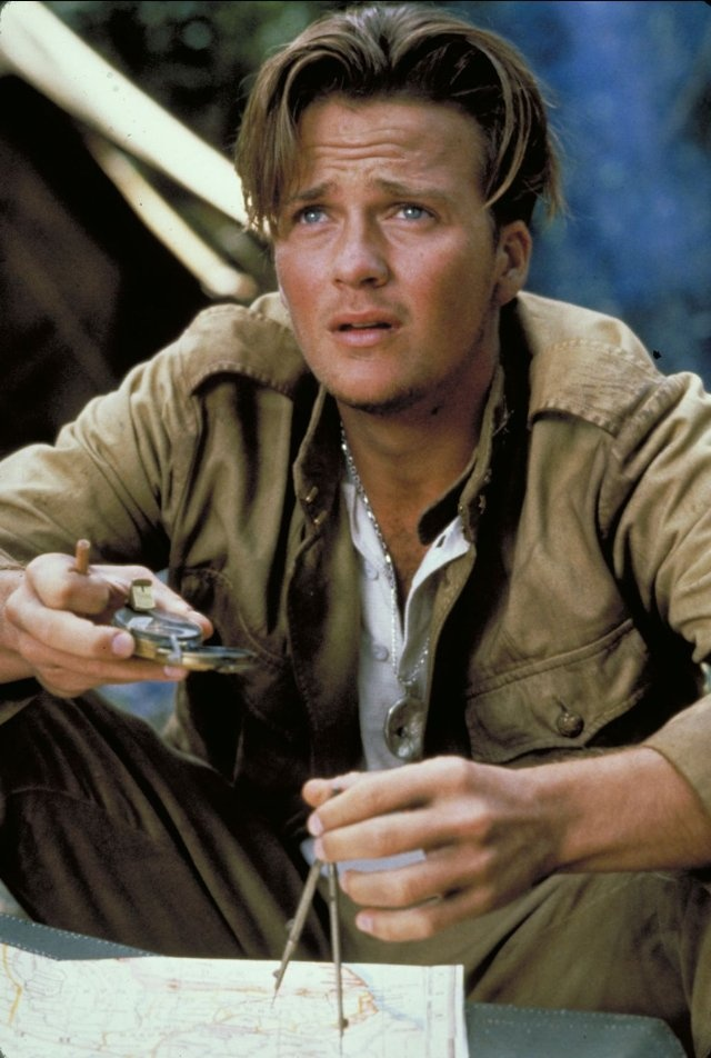 Sean Patrick Flanery in the Young Indiana Jones TV series.