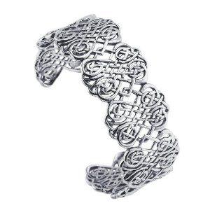 Sterling Silver Filigree Cuff Bracelet Body Candy. $208.32
