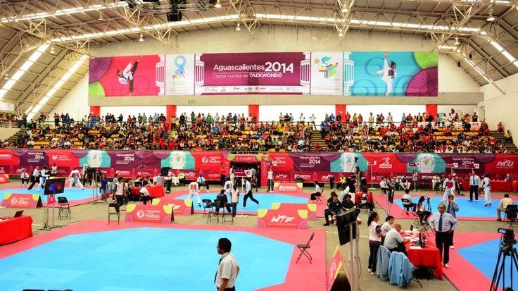 Inauguran el Panamericano y el Abierto Mexicano de taekwondo en Aguascalientes ~ Ags Sports