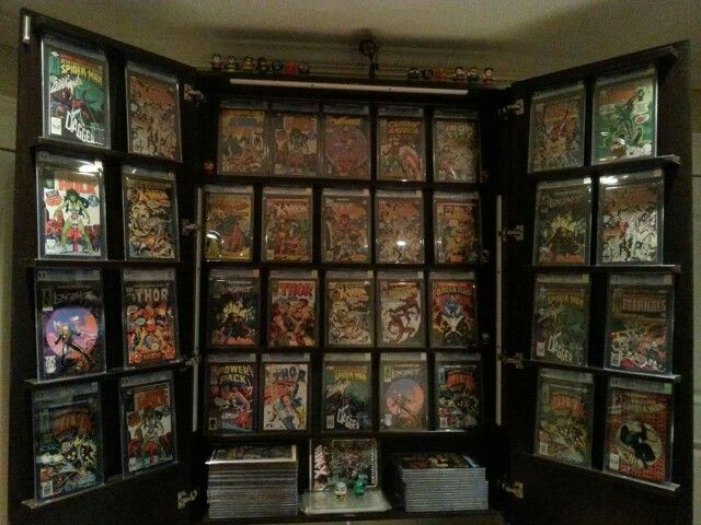 135 best comic book storage ideas images on pinterest comic book comic book storage storage organization storage ideas game rooms men cave comic books organizations nerd gaming rooms solutioingenieria Images