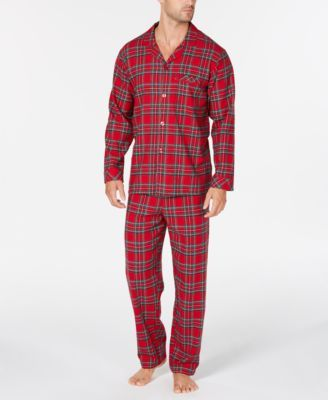 12606ce68f4b Matching Men s Brinkley Plaid Pajama Set