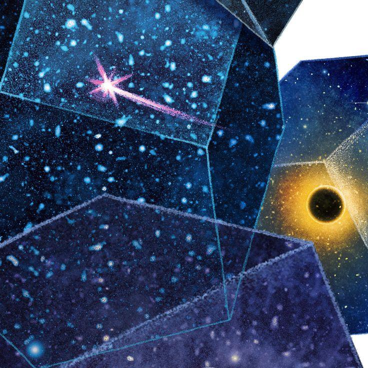 New Scientist Magazine feature Illustration on Behance