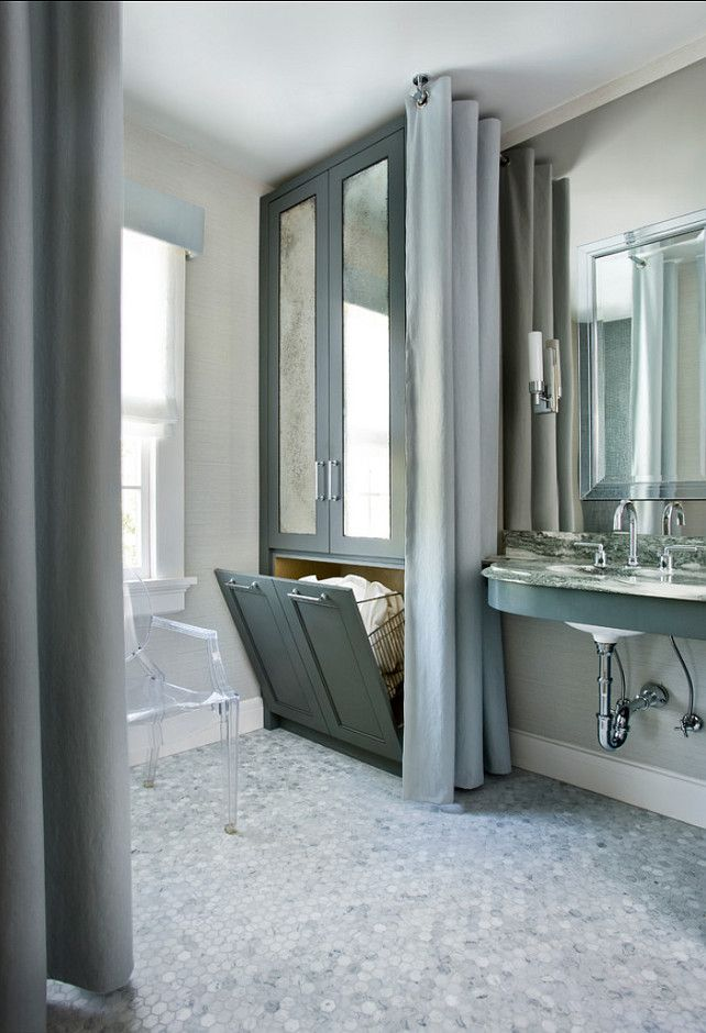 1000 ideas about bathroom laundry hers on
