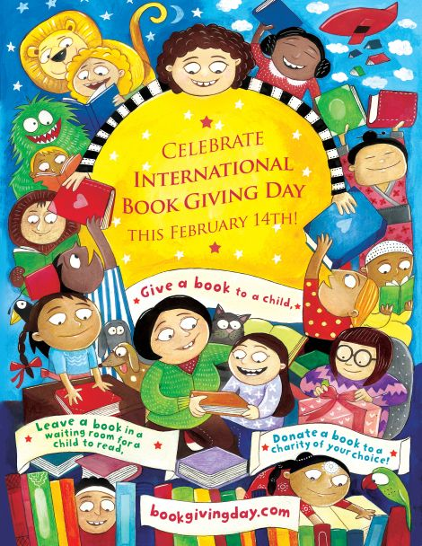 International Book Giving Day : PragmaticMom Great Reading blog, too.
