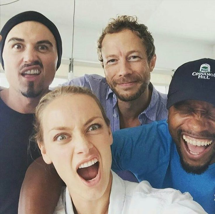 Lost Girl Cast - Paul Amos, Rachel Skarsten, Kris Holden-Ried and K.C. Collins