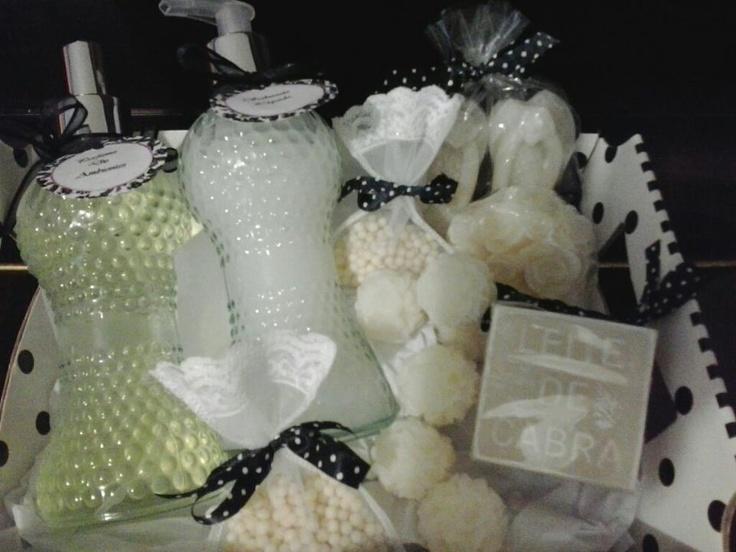 Kit Chá Branco