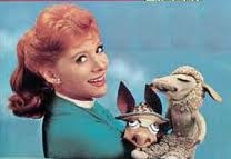 Shari Lewis and Lambchop! This is the song that never ends, it goes on and on my friends.........