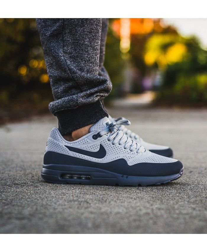Nike Air Max 1 Ultra Moire Grey Blue Trainers