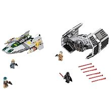 LEGO Star Wars - Vader's TIE Advanced contra A-Wing Starfighter