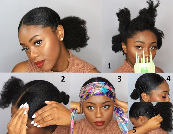 """Sleek ponytail styled by @chiziduru , using 16"""" kinky clipin extensions #naturalhair #protectivestyles"""