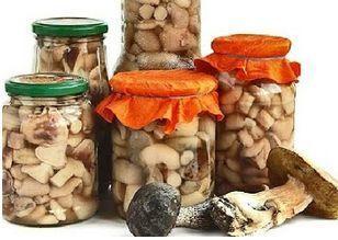 10 заготовок из ГРИБОВ на зиму.1. Засолка грибов - холодный способ.грибы (рыжики, черные и белые грузди, волнушки, сыроежки) - 1 кгсоль - 100 гсмородина - 10–12 листьеввишня - 5–6 листиковхрен - 2 лис…