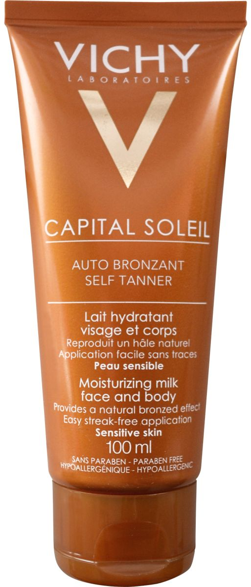 Vichy Capital Soleil Self Tanner Face and Body Moisturising Milk