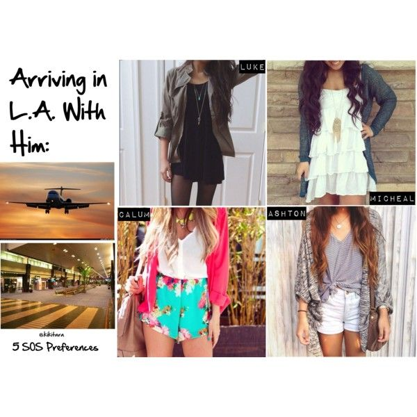 """""""Arriving in L.A. With Him:"""" by kikitara on Polyvore"""