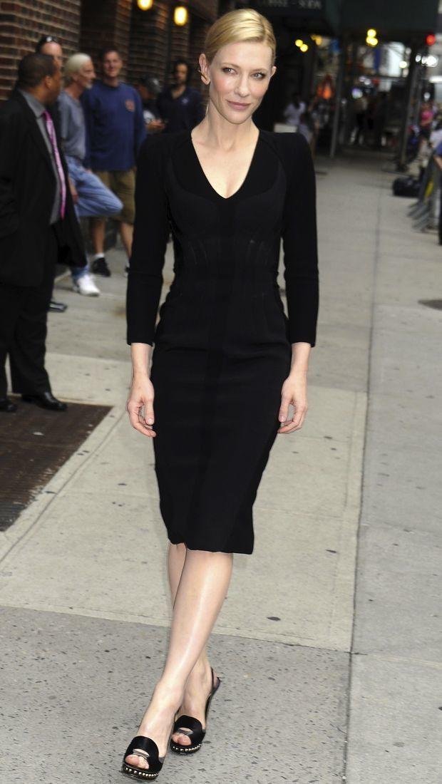 Cate Blanchett's Not-So-Basic Black Altuzarra Dress