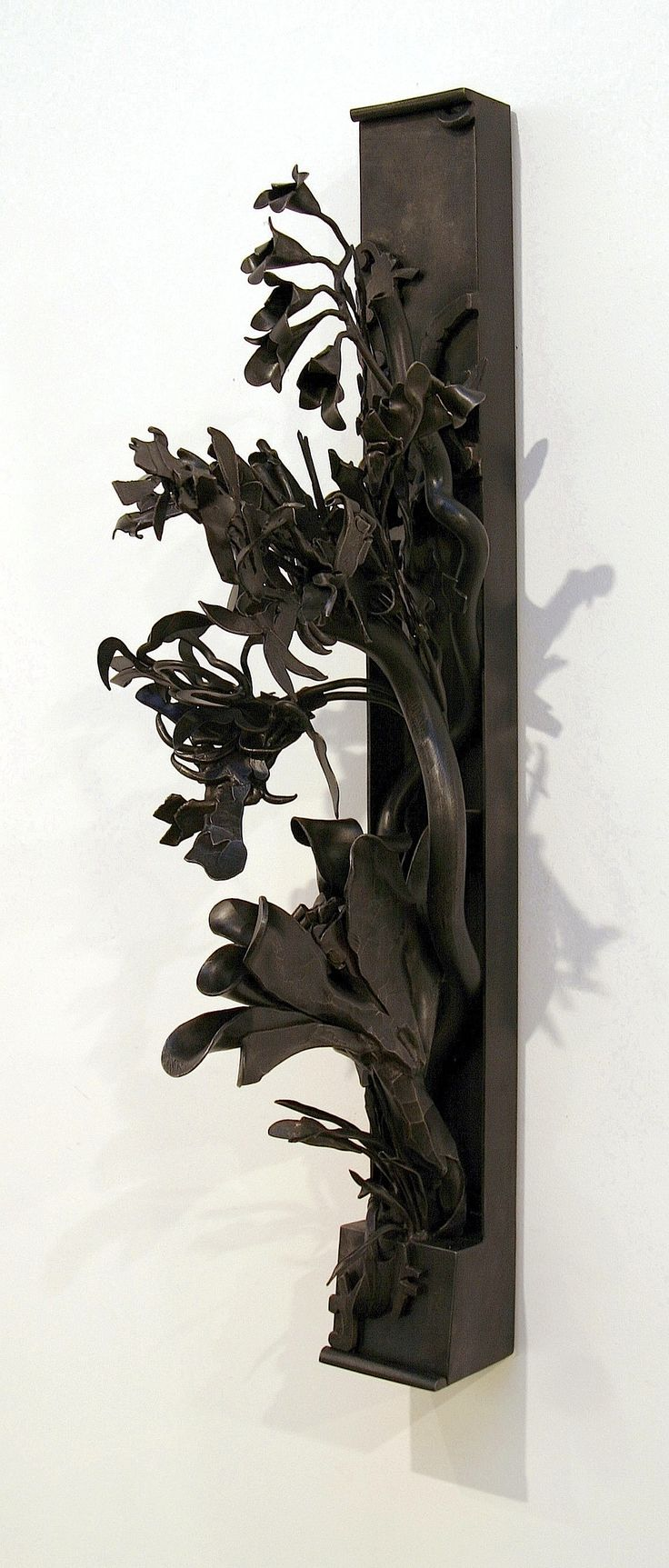 """Waiting for Parvati. 2009 Forged Steel. Isla Burns"