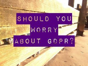 New GDPR regs in May for all small or large businesses #worry