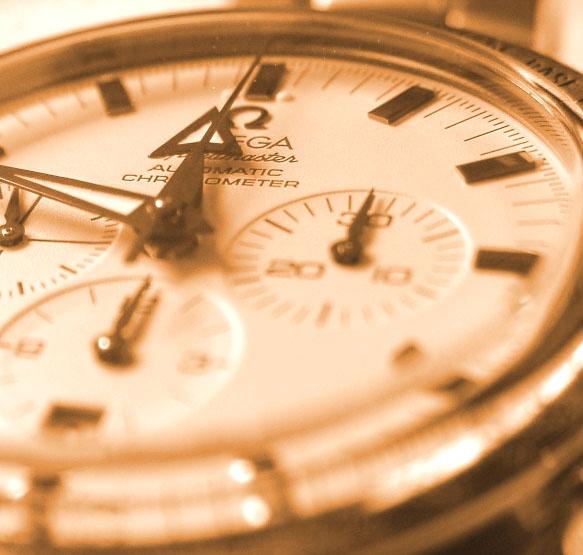 Omega Broad Arrow Chronograph