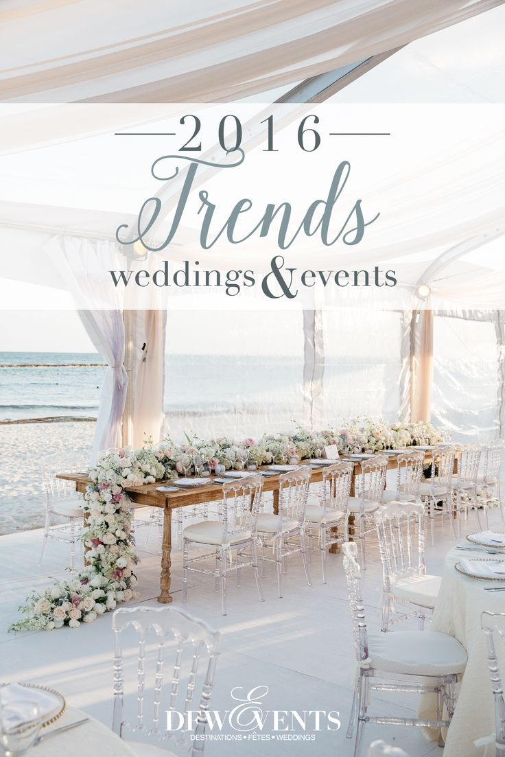 From food and beverage to entertainment and decor, these are the top 2016 Wedding and Event Trends on our radar! | Wedding Planner: DFW Events | Photo: Stephen Karlisch