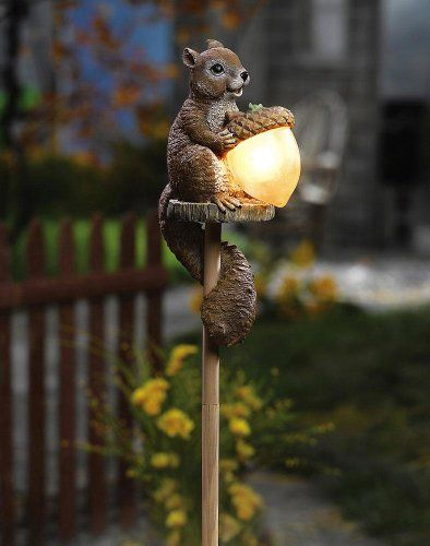 Solar Sammy Squirrel Outdoor Garden Stake Light Collections Etc,http://smile.amazon.com/dp/B004FJQDEE/ref=cm_sw_r_pi_dp_oe4Etb121T12VWBA