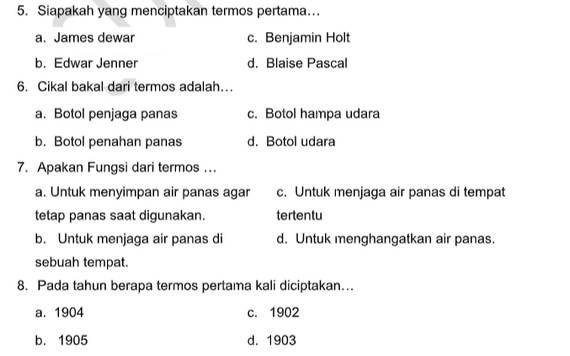 Soal Pts Kelas 5 Tema 7 Subtema 1 Dan 2 Dengan Kunci Jawaban Pendidikan Kurikulum Belajar