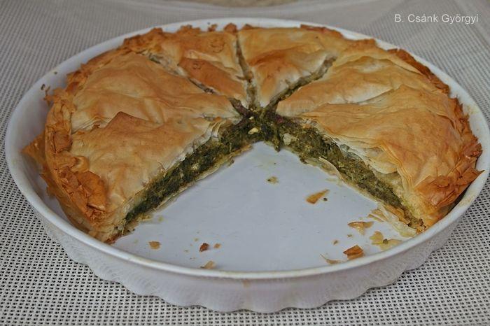 Spanakopita. Görög spenótos pite | Szépítők Magazin