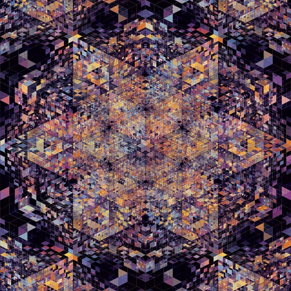 Kaleidoscopic awesomeness by Andy Gilmore on It's Nice That