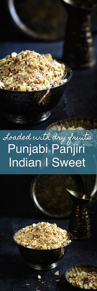 Panjiri Recipe I How to make Punjabi Panjiri. It is a very healthy, highly nourishing sweet made for prashad and for new mothers.