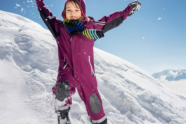 """New kids' Reimatec overall """"Succeed""""  guarantees your kid succeeds in cold and snowy winter weather."""