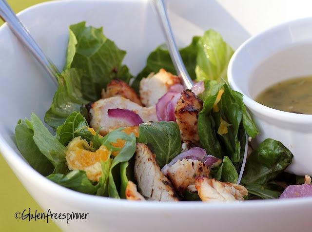From Gluten Free Spinner: Grilled Chicken with Orange and Rosemary (and a little Secret) @glutenfreespinn #glutenfree