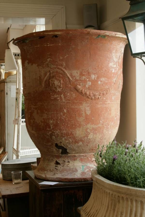 A Superb Example Of An Early 19th Century French Terracotta Lemon Tree  Planter From Anduze