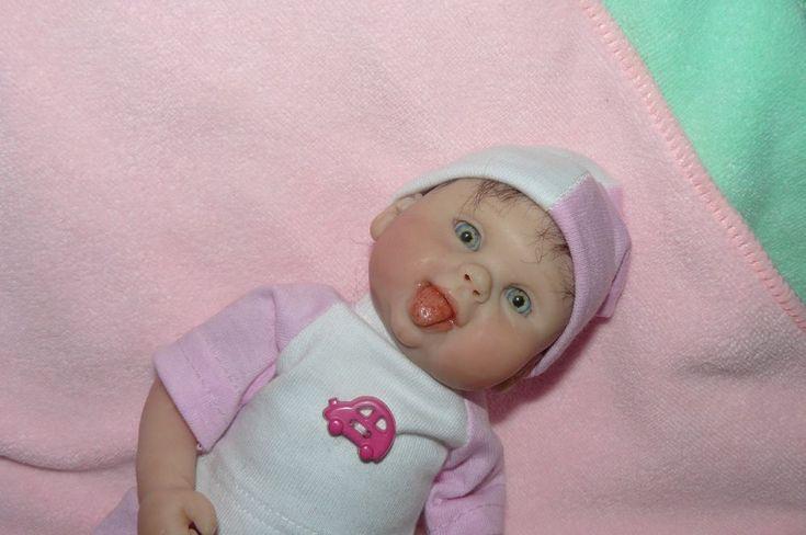 OOAK Original Artist Sculpt - Polymer Clay Art Doll - Baby Girl Sybil - 9 inches | eBay