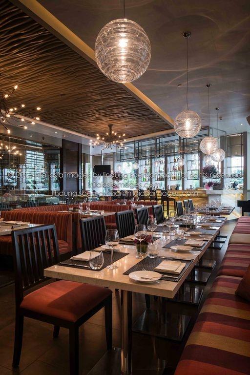 dining @ la luce wine & dine,  jakarta - indonesia