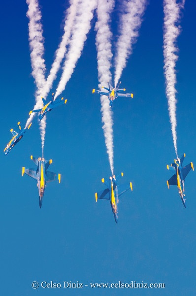 Blue Angels- One day I will see and hopefully meet the pilots :) (I'd pay a million bucks to fly in one of these planes) :D