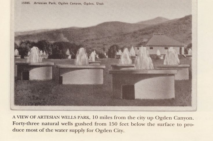 """(From """"History of Ogden, Utah in Old Post Cards,"""" by D. Boyd Crawford, used with permission.)     By Lynn Arave     WATER  has always..."""