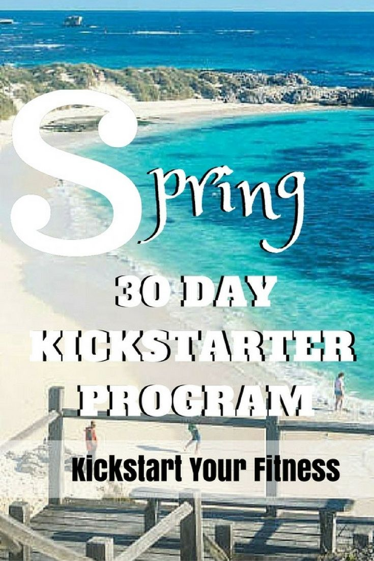 The 30 Day Kickstart Program is for people who haven't exercised in a while and want to build their fitness levels back up. You'll work with me and my FitFam to create some healthy eating habits and sustainable lifestyle changes to create the best version of YOU! Link: The 30 Day Kickstart Program is for people who haven't exercised in a while and want to build their fitness levels back up. You'll work with me and my FitFam to create some healthy eating habits and sustainable lifestyle…