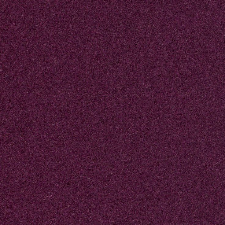Full Wool - Deep Orchid | We created Full Wool to meet the high demand for color and texture blocking and classic wool looks. Full Wool is a 100% wool solid fabric with a thick felted surface that is rich in both color and texture. This line is intended to be a staple for all types of seating and is colored to coordinate across the entire collection.